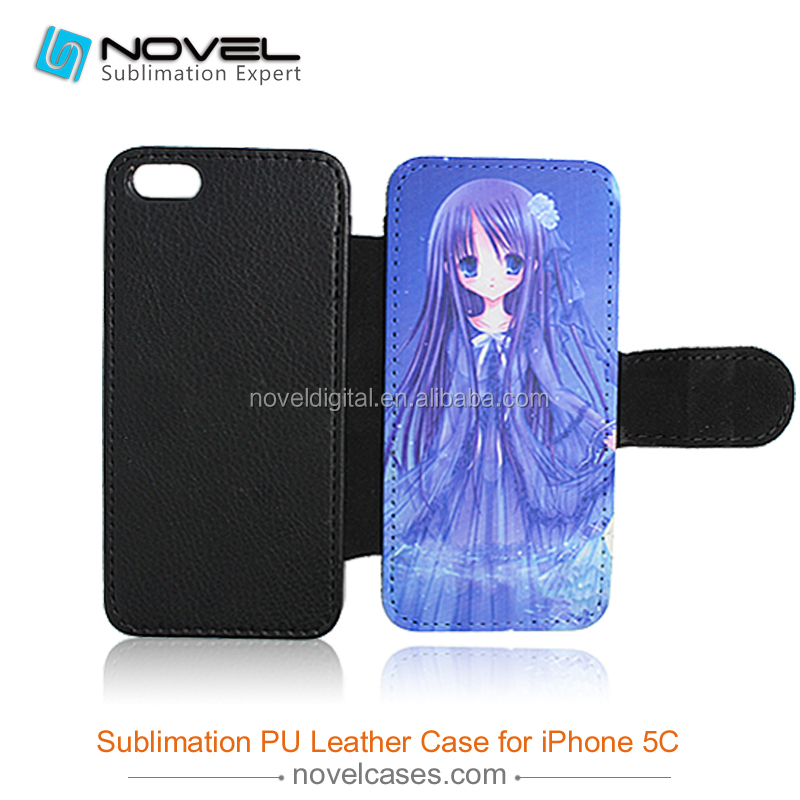 pu leather DIY phone case for iphone 5c