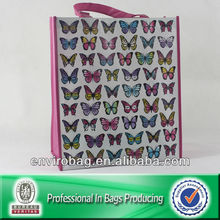 Wholesale Lot of The Pink Butterfly Printed Plastic Shopping Bags