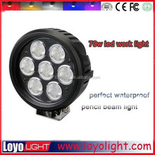 2015 hot sale ! 70w led work light great white led driving lights for 4X4 offroad