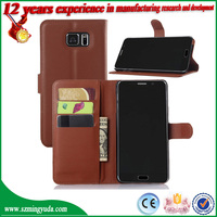 Stylish flip PU leather Cell Phone Cases For samsung Galaxy note 5
