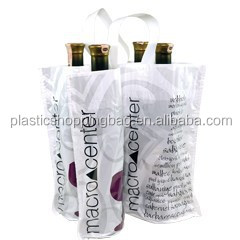 Plastic Bottle Retail Tote Bag OEM Soft Loop Handle Bag