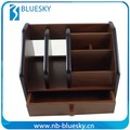 Various wooden pen storage boxes