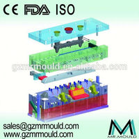 worm plastic injection mold