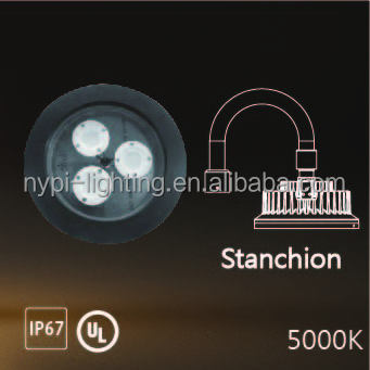 60W 5000K explosion proof light (Stanchion)