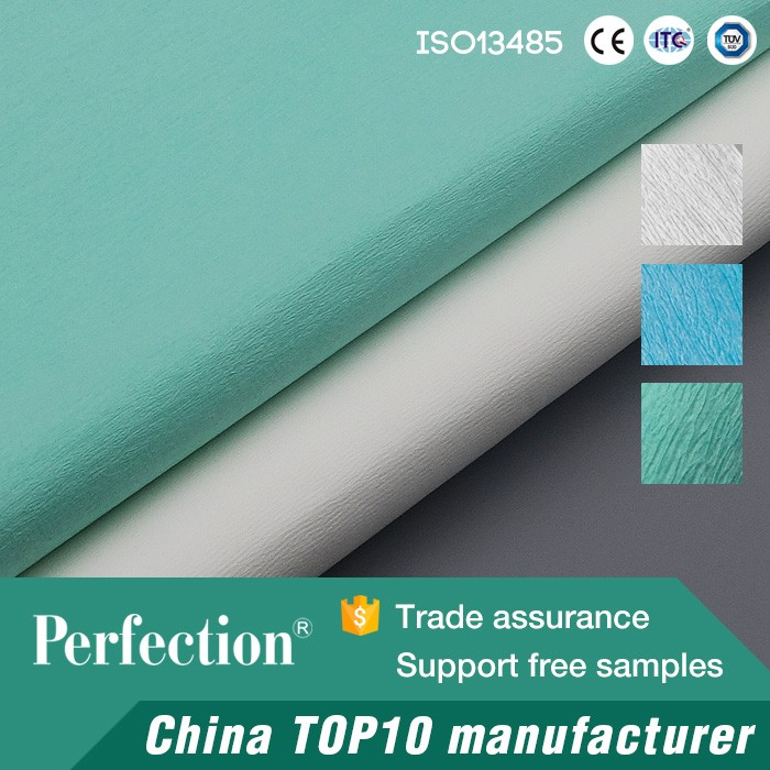 sterilization and disinfection paper crepe tubing
