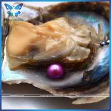 Super Deal Colorful AAA+ Near Round 6-8mm Sea Water Pearl Oyster With Pearl