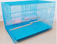 Metal canary bird cage
