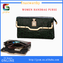 Luxury Ladies' Handbag At Low Price Gorgeous Women Clutch Bag For Girls Manufacture Stylish Crocodile Grain Bag Women Trend 2016