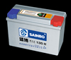 Various models 12v135AH MF car battery
