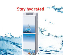 Elegance standing direct drinking water dispenser hot and cold compressor