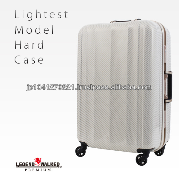 Light weight strong smart stopper rolling logo suitcase trolley luggage bag featured in media