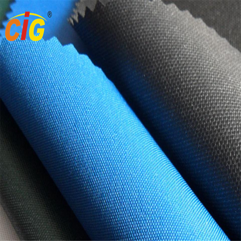 PVC Coated Waterproof Tear-resistant Plain 600D Polyester Oxford Fabric
