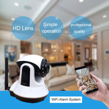 Wireless 720P HD Smart P2P Baby Monitor Network Security Camera wifi ip camera alarm system