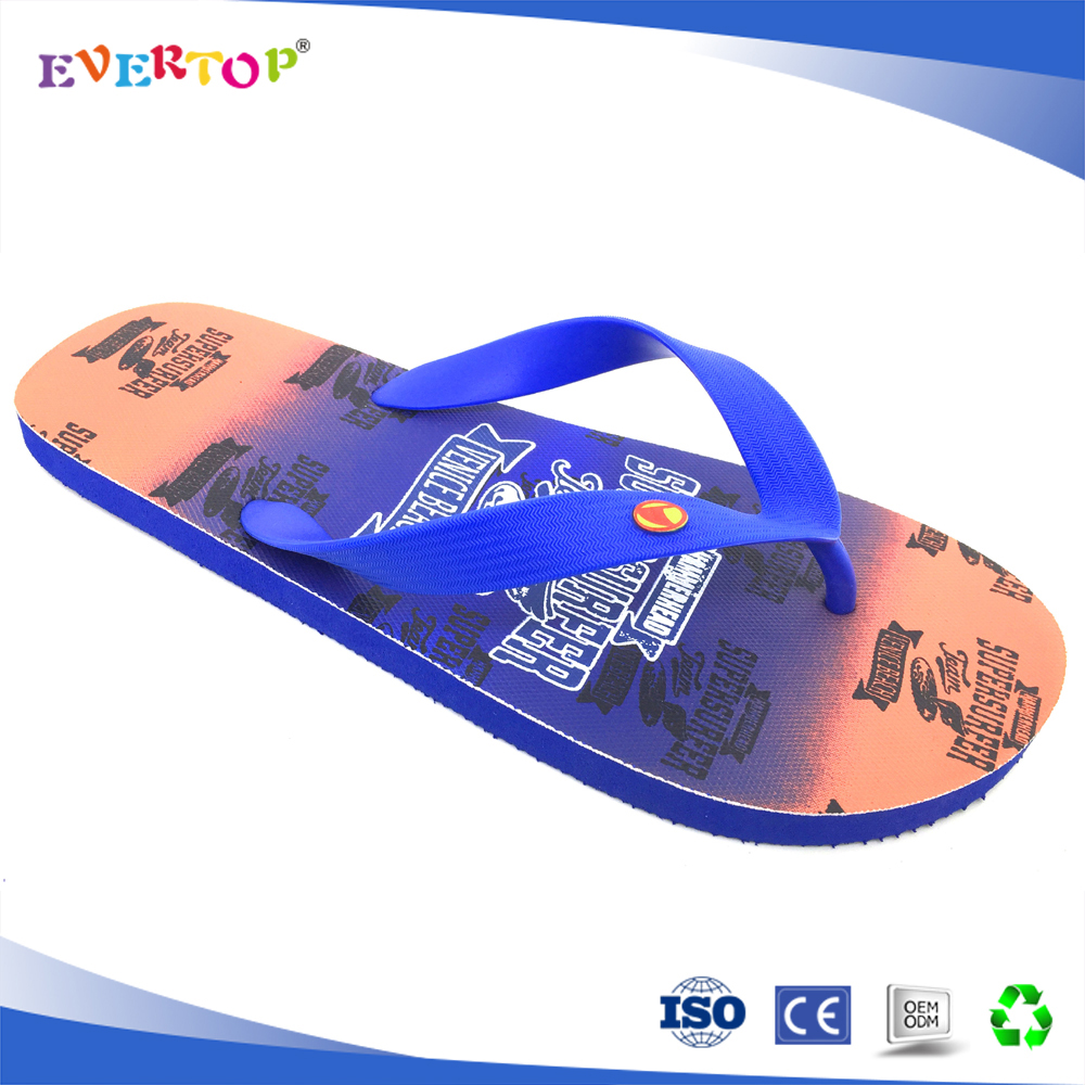 2017 SS wide strap bright royal blue comfortable flip flop
