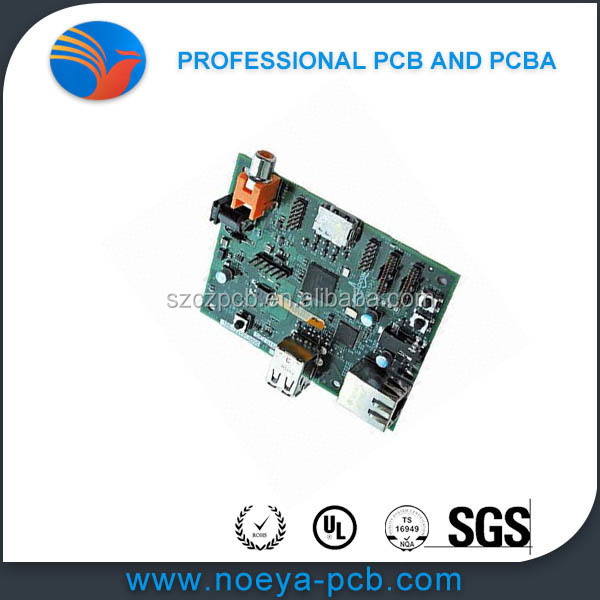 Contract PCB Assembly Services, Certified by ISO 9001 Standards