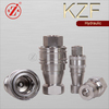 "KZF 3/4"" ISO 7241-1 B Hydraulic Hose Quick Disconnect Couplers"