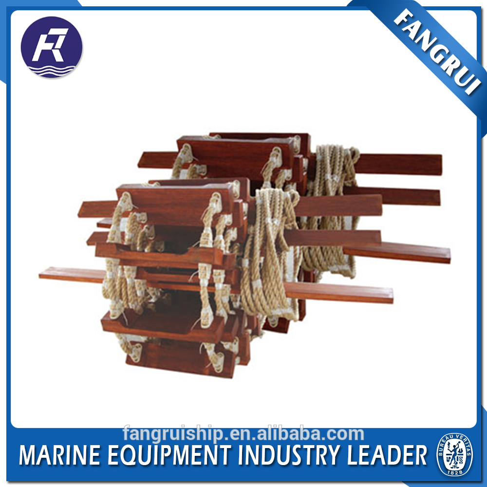 Low price ccs boat nylon aluminum alloy steps ship rescue rope ladder