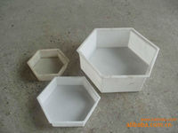 vibation table produce block, paver with plastic mould moulds of pave out of plastic