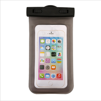 Hot new products water proof cell phone cases mobile phone PVC waterproof dry bag for promotional gift