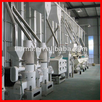 150t/day modern rice mill for sale