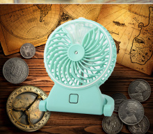Mini air blower battery powered toy fan for kids