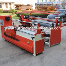 automatic strip cutting machine type CNC fabric roll cut machine