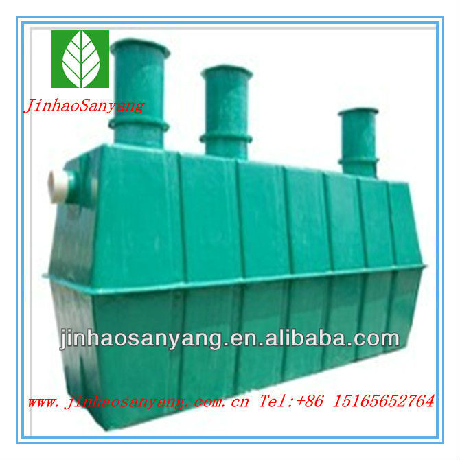 Glass fiber reinforced plastic environmental protection septic tanks