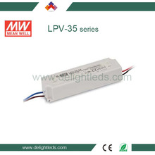 Fully encapsulated with IP67 level constant current design meanwell led power
