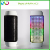high quality micro digit product for smart phone charge working distance Pulse LED cube portable bluetooth speaker