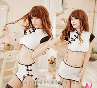 Sexy Women Lingerie EUROPE Maid Fancy Dress Costume G String Role Play