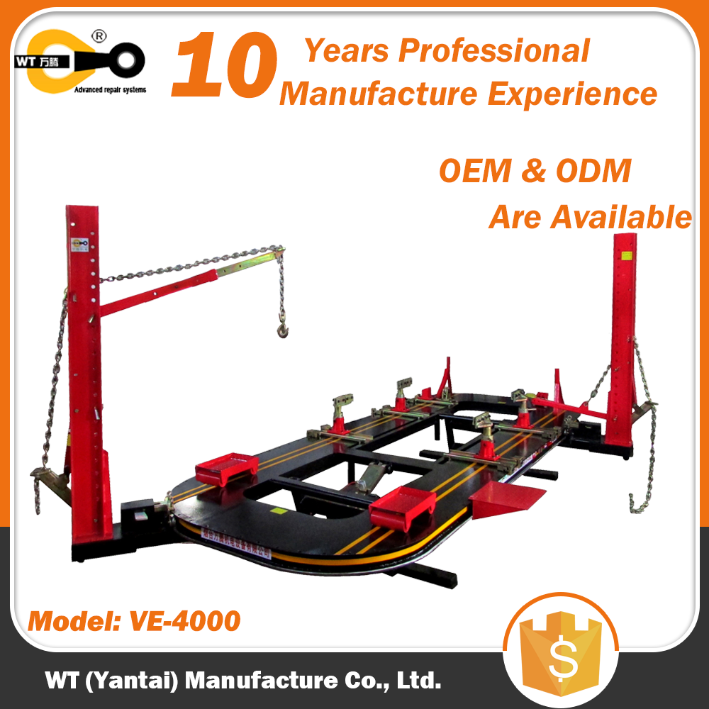 WT VE-4000 Car Frame Alignment Cost / Chassis Repair Machine