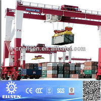 Goodcost rubber tyre crane, container crane, port container cranes