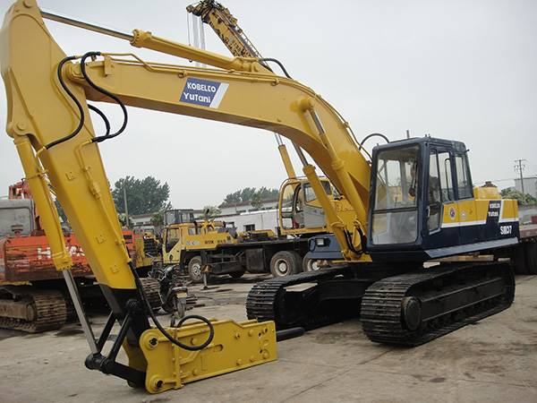 Original Parts Used Excavator Kobelco SK07 Imported From Japan Excavators