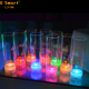 LED Luminous Juice Glass Cup Colorful Light Charged Flashing Light Beer Coke-Cola Drink Cup for Party Club Bar Decorative