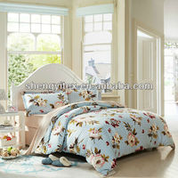 Cheap Queen Size Bed sheets/Designer Bed Spread/100% Polyester Bedding