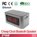 Factory Pirce Alarm Clock Bluetooth Speaker from 11 YEARS Supplier