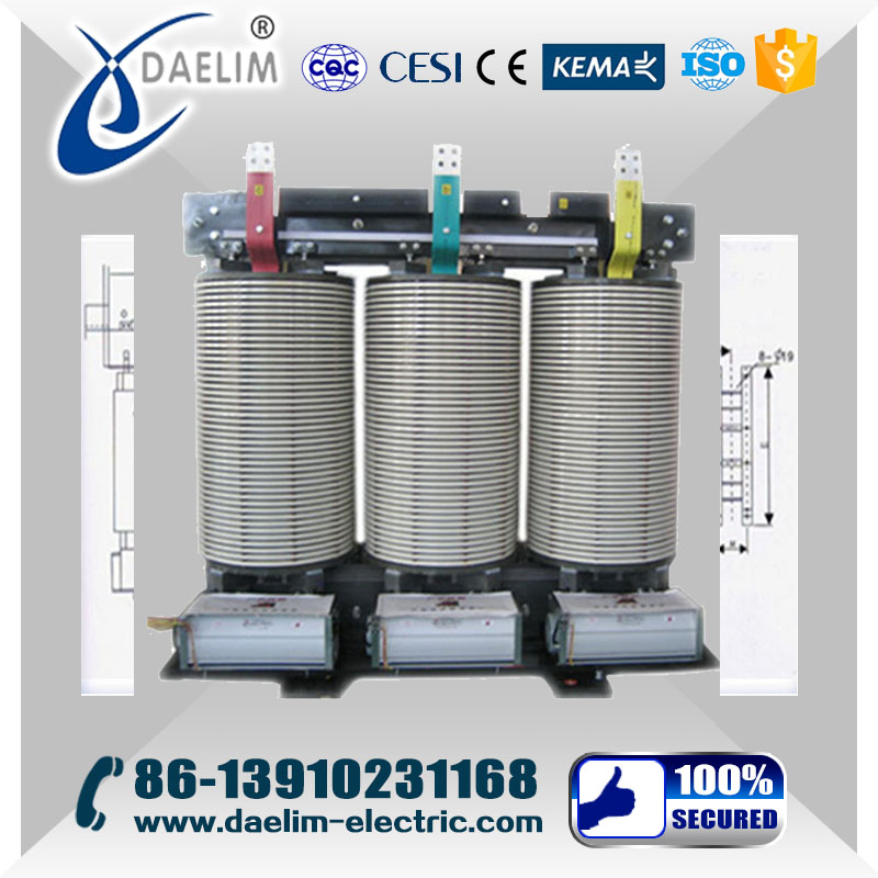 SG10 10kv 1600kva Isolation Dry Type Power Transformer with Iron Core
