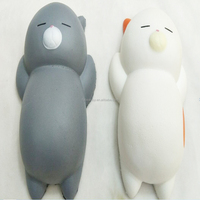Jumbo Cat Squishy slow rising toy soft PU foam squishy stress relief toys
