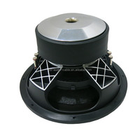 Big power dual 2Ohm DC 12V SPL subwoofer 10inch 12inch 15inch 18inch available