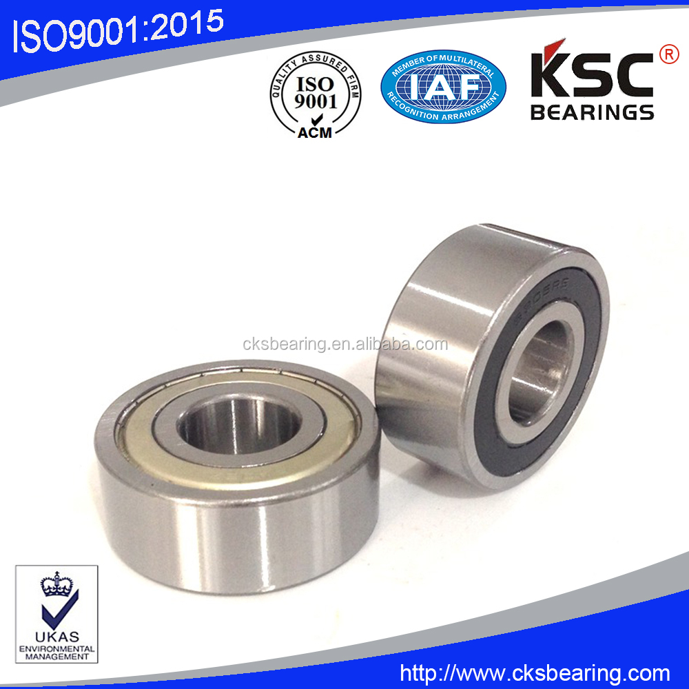 5204-2RS Angular contact ball bearing Double row ball bearing