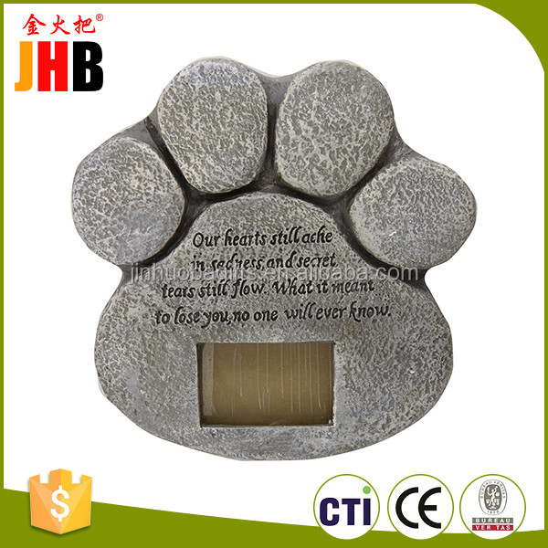 New design pet dog cute tombstone and monument
