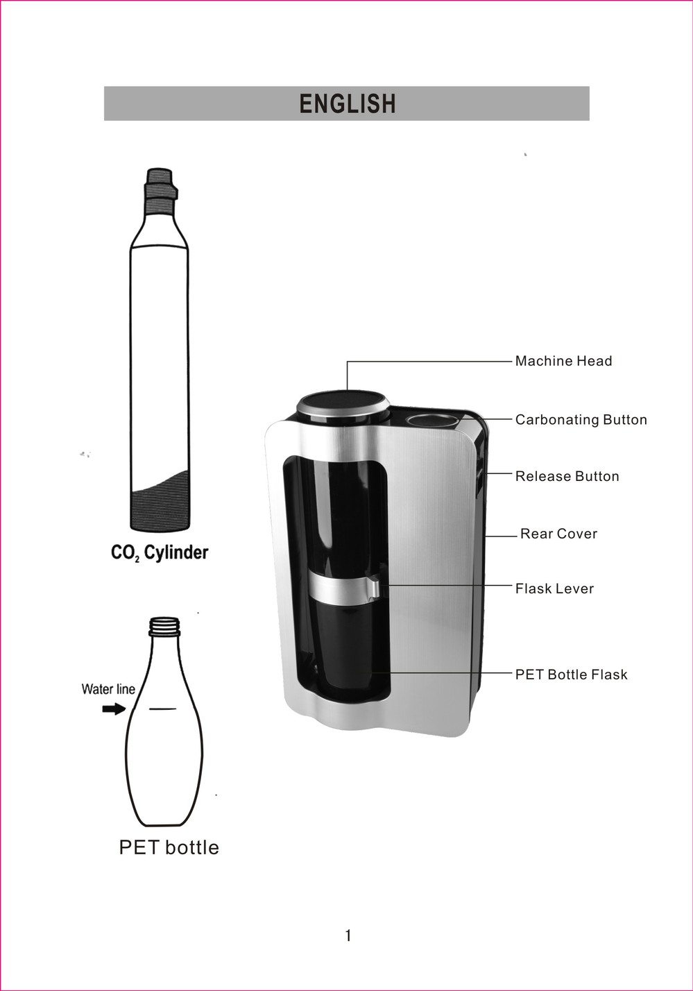 home soda maker Carbonated Soda Making Machine (HB-1307)