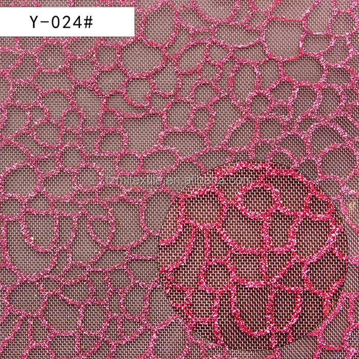 The china company heavy duty polyester print mesh fabric