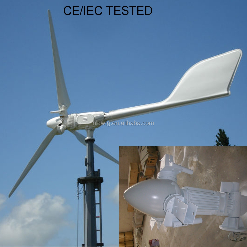 BEST!Variable speed / centrifugal pitch controlled wind turbine 2kw 3kw 5kw 10kw