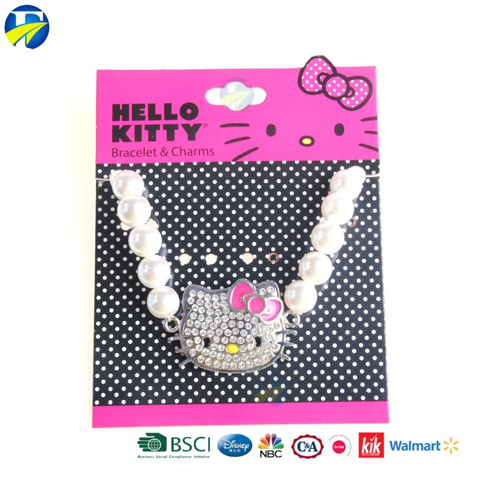 FJ brand hot selling lovely cartoon hello kitty jewelery bracelets bangles