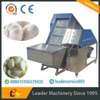 Leader stainless steel full-automatic garlic peeling machine at the best price