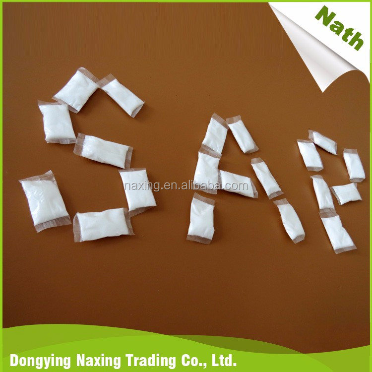 China new innovative product sap sachet for potted plants used in urinals used for bedpans