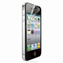 Netted Anti-Scratch Mirror PET Screen Protector For iPhone 4