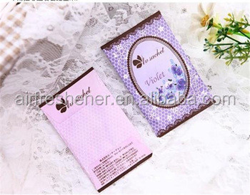 fragrance sachet envelope air fresheners