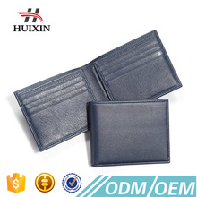 2017 Hot Selling Newly Custom Best Branded Mens Credit Card Genuine Leather Wallet